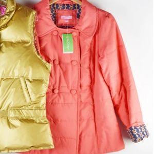 NWT Lilly Pulitzer Alessa Coat Puffer Jacket